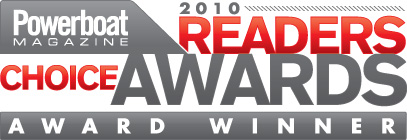 MTI Earns Powerboat's 2010 Readers Choice Award