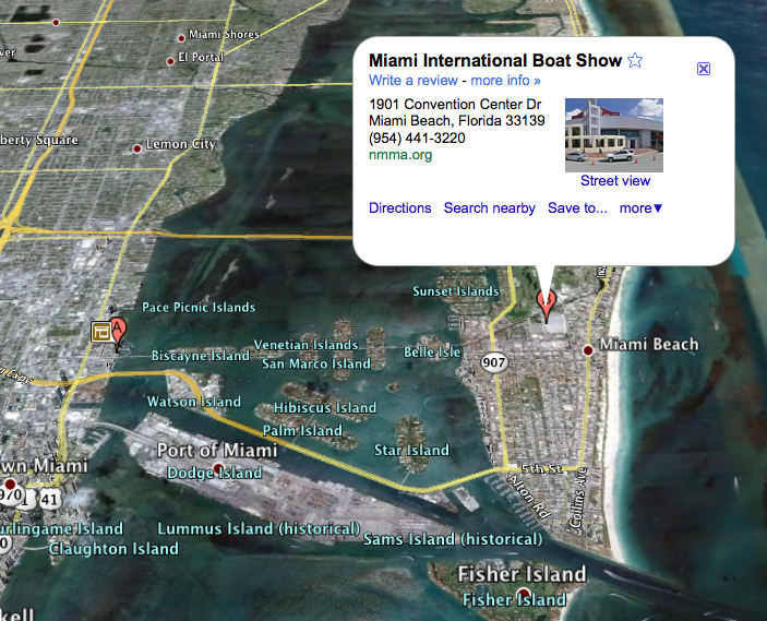 2012 Miami Boat Show • Feb. 16-20