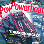 MTI Boat, Featured In Powerboat Magazine, On Display At The Miami Boat Show