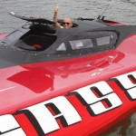 Super Boats Take To New York Hudson River For Boat Race