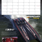 MTI Featured in 2012 Mercury Racing Calendar