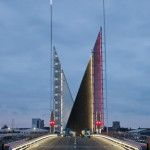 Sunseeker Yacht Shown at Twin Sails Bridge Grand Opening