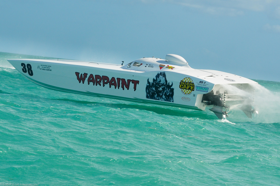 Team Warpaint MTI Ready for Space Coast Super Boat Grand Prix