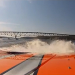 MTI Boat running during Lake Ozark Shootout Poker Run 2012