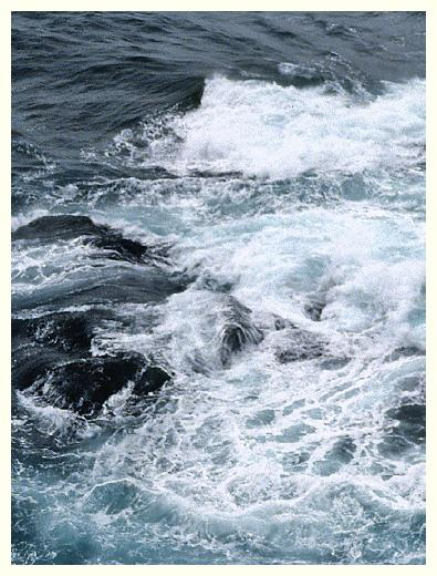 boating in rough water