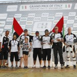 Team Abu Dhabi MTI At The Grand Prix of Italy