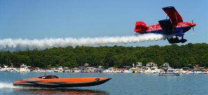 Lake of the Ozarks Shootout MTI Plane
