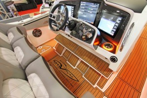 Close-Ups Of MTI V-42 at Miami International Boat Show