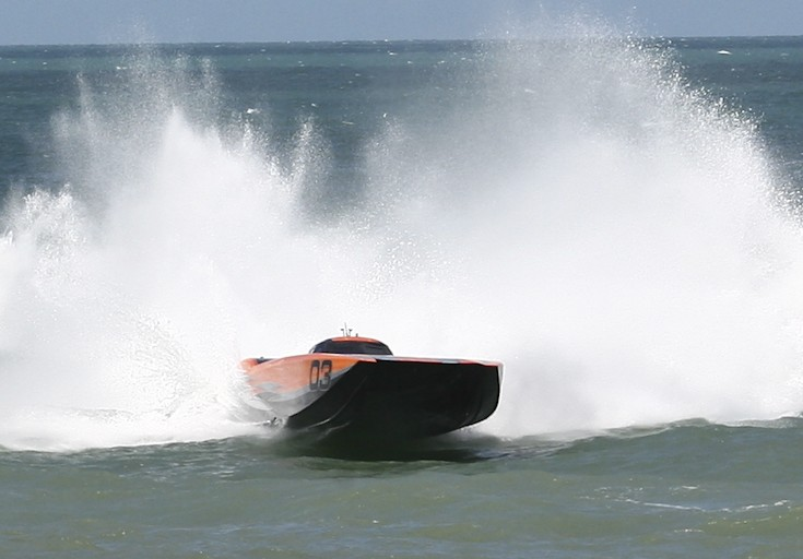 CMS Offshore Racing MTI Takes The WIN at Cocoa Beach!