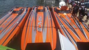 CMS MTI Catamarans Take The Win At Third Annual LOTO Lake Race