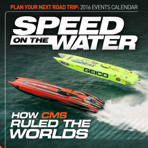CMS Motorsports MTI Catamaran Graces Cover of Latest Speed on the Water Magazine