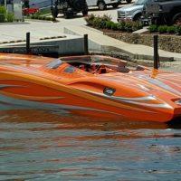 2008 MTI 42 R/P, Twin Mercury Racing 1100 Turbo