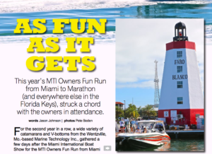MTI Owners Fun Run Featured in SOTW Magazine
