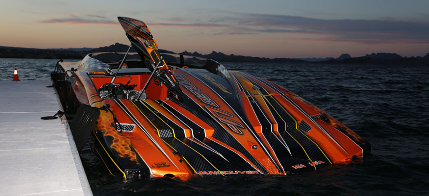 Image of the Week: MTI's 52-foot Catamaran From The Desert Storm Poker Run