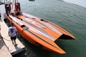 MTI 48 foot Cat Sets the Pace - boats.com