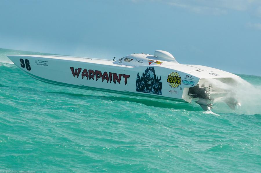 Team Warpaint MTI Ready for Space Coast Super Boat Grand Prix