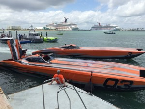Marine Technology Inc at Thunder on Cocoa Beach Super Boat Grand Prix