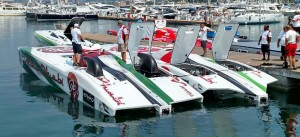 Team Abu Dhabi Places First in Internationale Motonautique Class 1 World Powerboat Championship