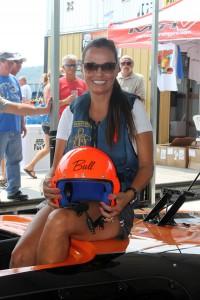 Fastest Woman in LOTO Shootout History Hits 180MPH MTI Catamaran!