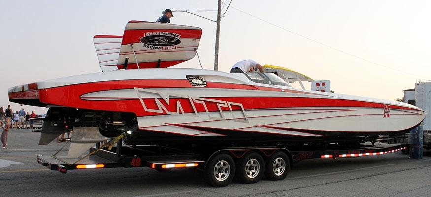 New Husker Power MTI Catamaran Turns Heads at LOTO