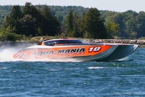 Aqua-Mania G3 Test Runs 52' MTI Turbine Catamaran
