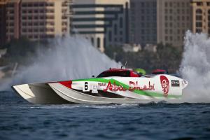 Team Abu Dhabi 48' MTI Catamaran Featured in a Top Story of 2015