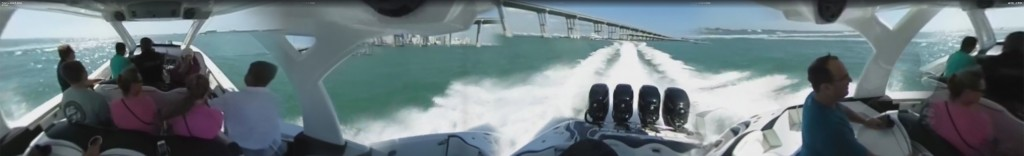 360 View MTI–V 42 Ride Along Video from Miami Boat Show