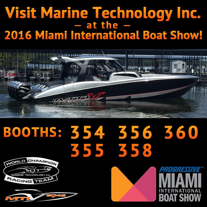 Visit MTI at the Miami Boat Show – Miami Marine Stadium Park & Basin on Virginia Key