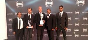 UIM Gala Awards Team Abu Dhabi World Championship Title