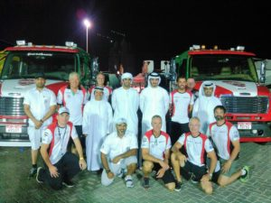 MTI and Team Abu Dhabi at the 2016 UIM Class 1 World Powerboat Championship