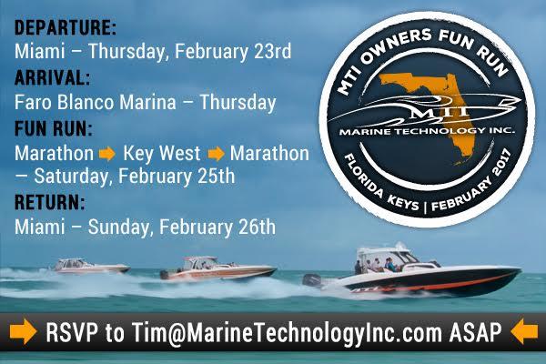 Join us at the MTI Owners February Fun Run