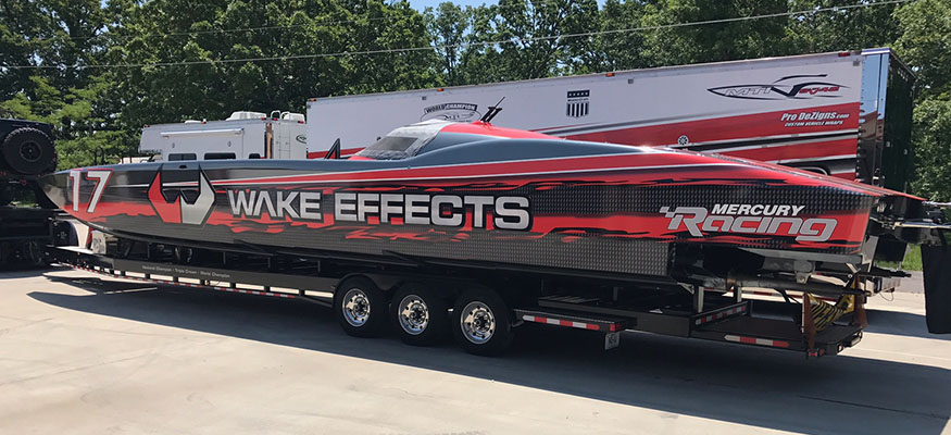 Wake Effects New Look for The 2017 Racing Season