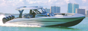 MTI-V 42 Featured in 7 Fast Center Console by Boating Magazine