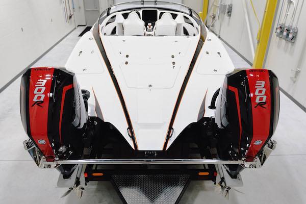 Sneak Peek: First Mercury Racing 300R V-8 Outboard-Powered