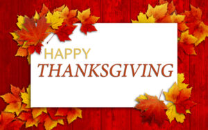 Happy Thanksgiving from MTI